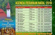 Jadwal Misa Natal 2019 dan Tahun Baru 2020 di Gereja Santa Perawan Maria Lourdes Promasan – Kulon Progo – Yogyakarta