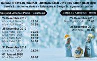 Jadwal Misa Natal 2019 dan Tahun Baru 2020 di Gereja St.Antonius Padua – Jakarta Timur