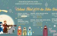 Jadwal Misa Natal Di Paroki Kampung Duri Gereja Damai Kristus