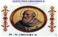 Santo Paus Gregorius II