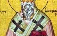 Santo Alexander dari Alexandria