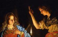 """Minggu IV Pra Paskah, Hari Raya Kabar Sukacita, """"Jadilah Menurut Perkataan-Mu"""""""