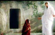 """Selasa Oktaf Paskah, """"Ibu, mengapa engkau menangis? Siapakah yang engkau cari?"""""""